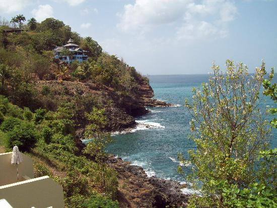 Sandals Regency La Toc: view from the bluffs