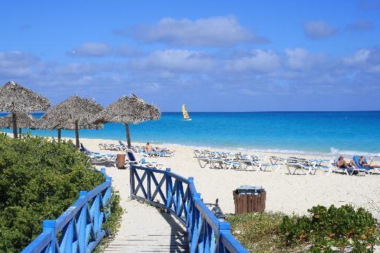 Melia Cayo Santa Maria: arrivée à la plage