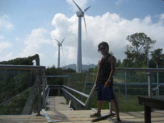 Pulau Perhentian Kecil, Malaysia: wind mill.small perhentian