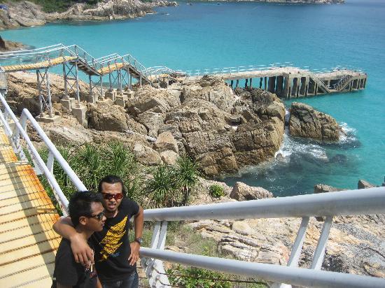 Pulau Perhentian Kecil, Malaysia: wind mill