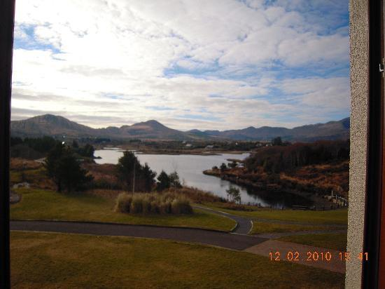 Sneem Hotel: View from room 10 window