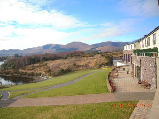 Sneem Hotel: View from room 10