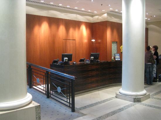 Hyatt Regency Birmingham: Hotel reception