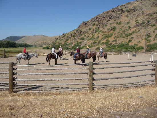 Rocking Z Guest Ranch: ready to go