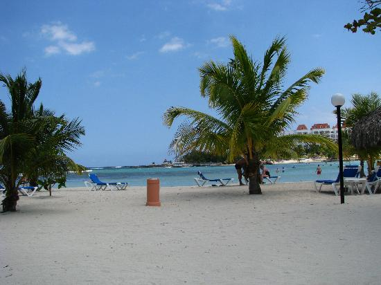 Grand Bahia Principe Jamaica: Our spot on the beach