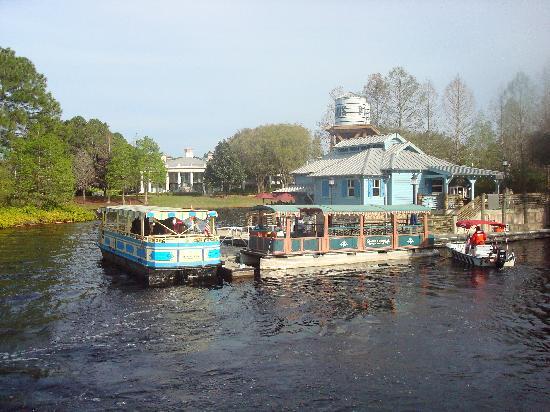 Disney's Port Orleans Resort - Riverside: Water Taxi Launch