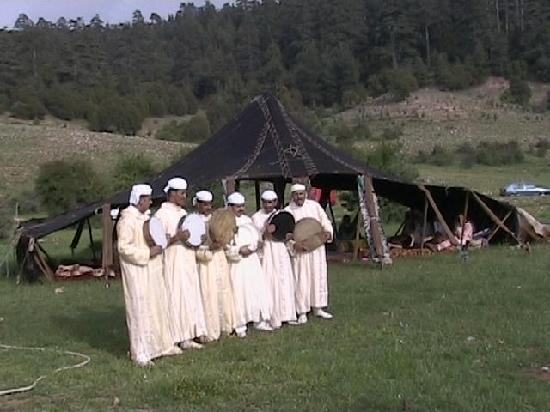 Azrou, Marokko: Berber (Amazigh)  Band