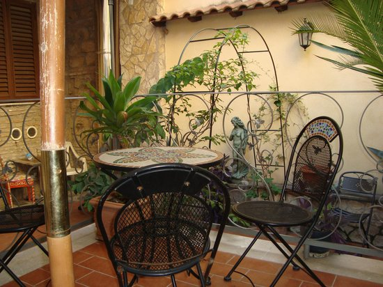 Guest House Planet 29:                                     terraza
