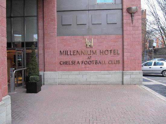 Millennium & Copthorne Hotels at Chelsea Football Club: Front Entrance