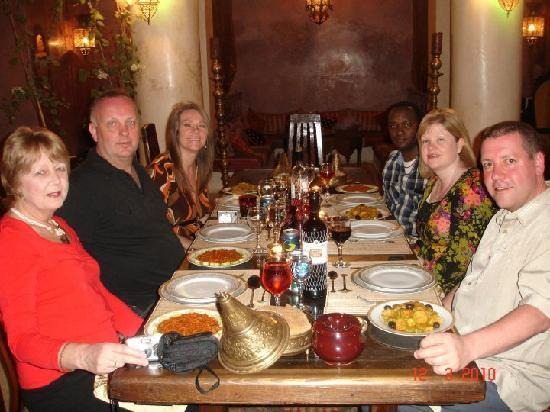 Riad Lorsya: Our complimentary meal with friends