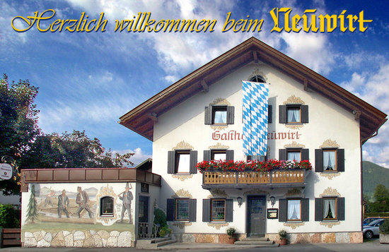 Lenggries, Germany: Hausansicht Gasthof Pension Neuwirt