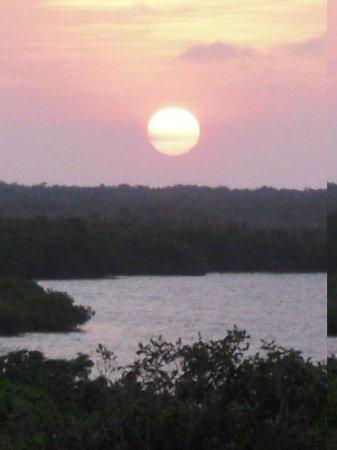 Sin Duda Villas: laguna sunset from roof