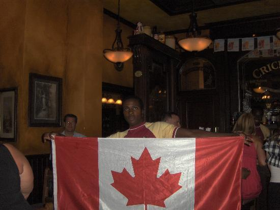 Beaches Turks & Caicos Resort Villages & Spa: We educated the locals on Canadian Hockey Pride !!