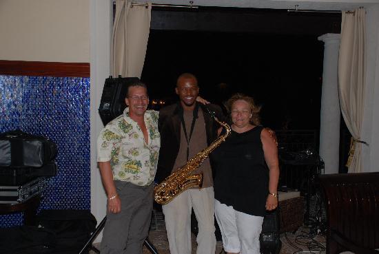 Beaches Turks & Caicos Resort Villages & Spa: Our Jazz Man ..... Jervon !!!