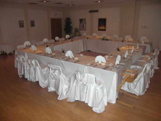 Constantinou Bros Athena Beach Hotel: Our Meal