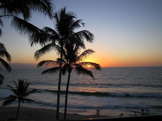 Hyatt Ziva Puerto Vallarta: One of many beautiful sunsets