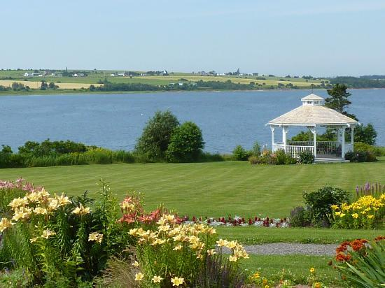 The Inn at St. Peters: The Inn's beautiful view & garden
