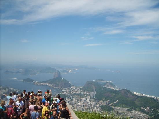 Kristusstatuen i Rio de Janeiro: Qué vista!!!, no??