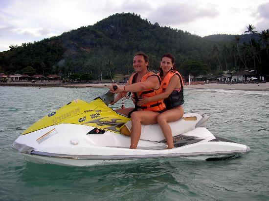 Soleil d'Asie Residence: stert of aquqbike trip