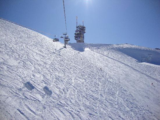 Engelberg, Sveits: Titlis Ice Flyer, 8 March 2010