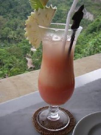 The Royal Pita Maha: サラックのジュース