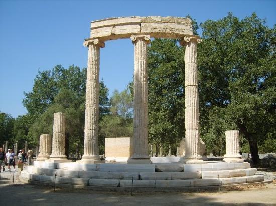 Hotel Macedonia: Olympic Ruins in Olympia
