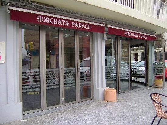 Horchatería PANACH, Alboraya, Valencia.