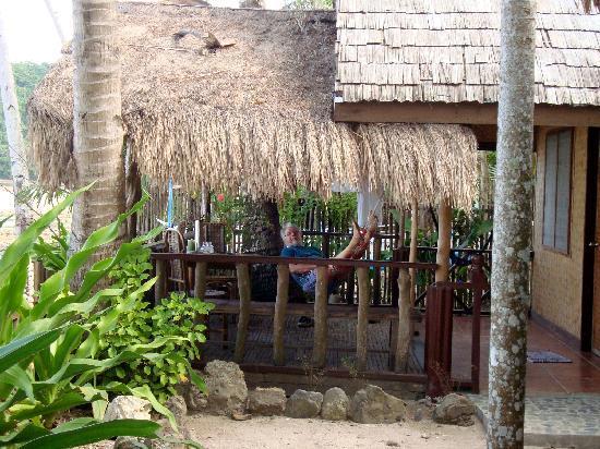 Golden Monkey Cottages: Cottage #1, oceanview