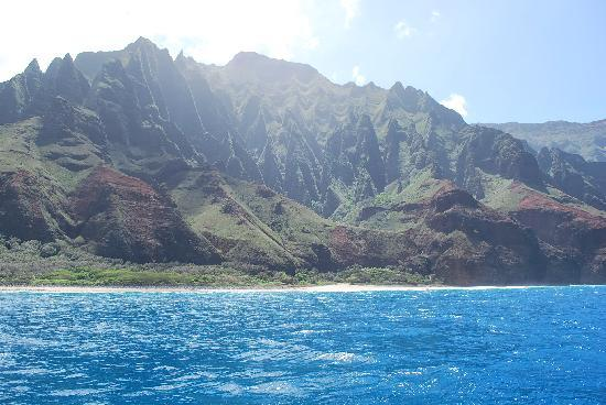 Na Pali Makai: What you might see on a clear day!