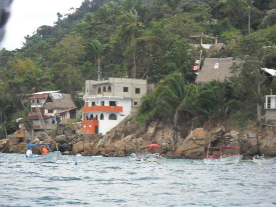 Casa Isabel: Yelapa from Water Taxi