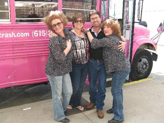 NashTrash Tours: Jugg Sisters with Angie & Joel from Wilmington, IL