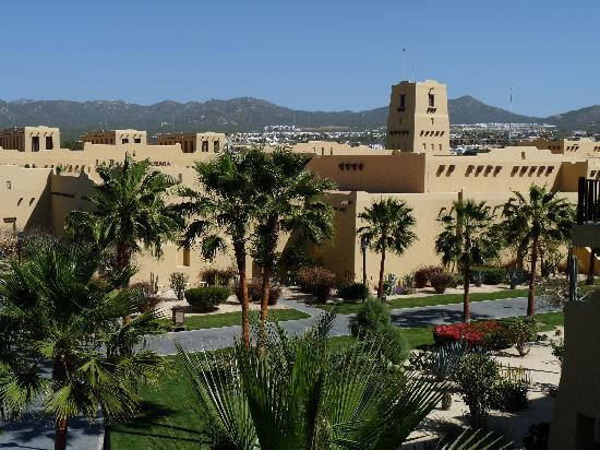 Hotel Riu Santa Fe: View from our room of the Santa Fe