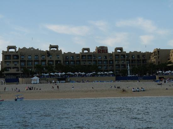Hotel Riu Santa Fe: View of the beach at the Santa Fe
