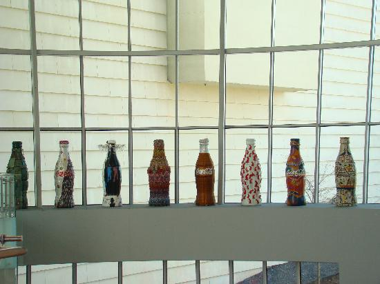 World of Coca-Cola: Coke bottles