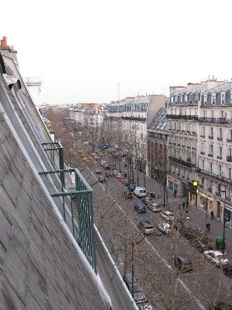 Grand Hotel Francais: View from top floor window