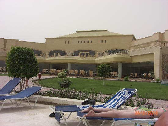 Three Corners Fayrouz Plaza Beach Resort: Dining area.