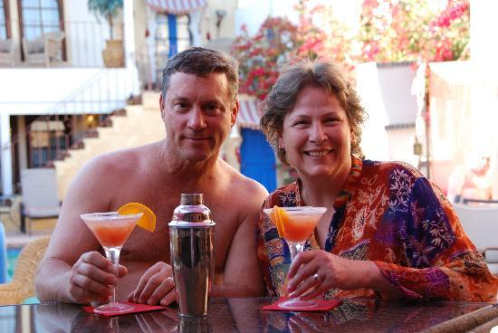El Morocco Inn & Day Spa: Enjoying Moroccotini's