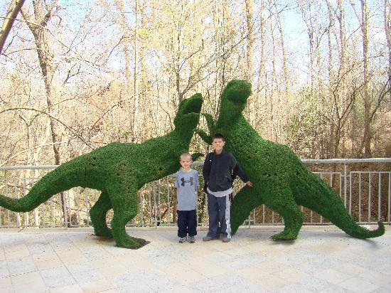 Fernbank Museum of Natural History: Look for dinosaurs everywhere