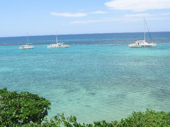 Silver Seas Resort Hotel: Boats on the water
