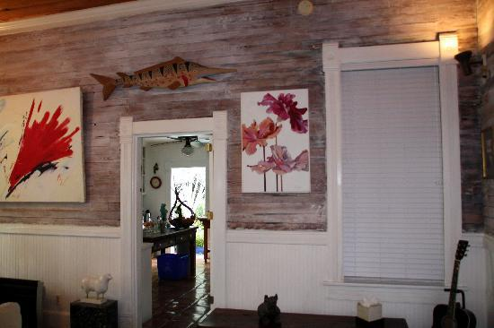 Key West Bed and Breakfast: Living Room