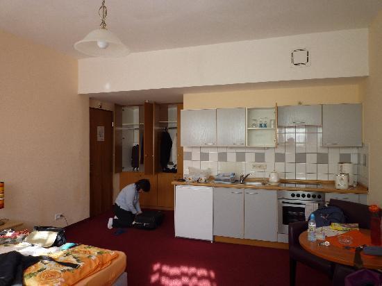 Appartementhotel Hamburg: 客室 ツイン