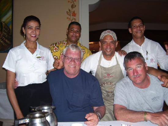 Majestic Colonial Punta Cana: Buffet Staff - Wonderful!