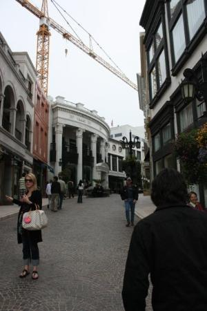 Beverly Hills, Kalifornia: top end of Rodeo Drive