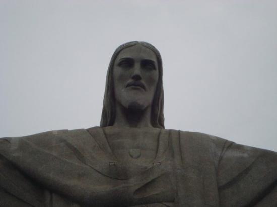 Kristusstatuen i Rio de Janeiro: CRISTO REDENTOR...