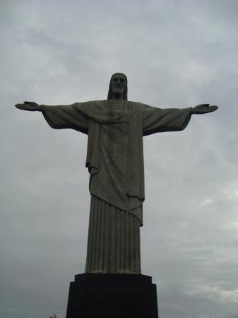 Kristusstatuen i Rio de Janeiro: CRISTO REDENTOR