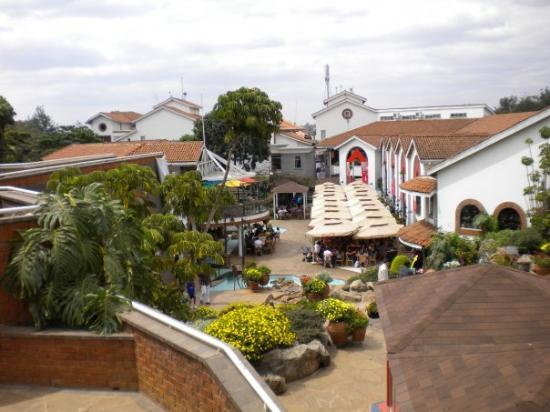 Nairobi, Kenya: Shopping mall area