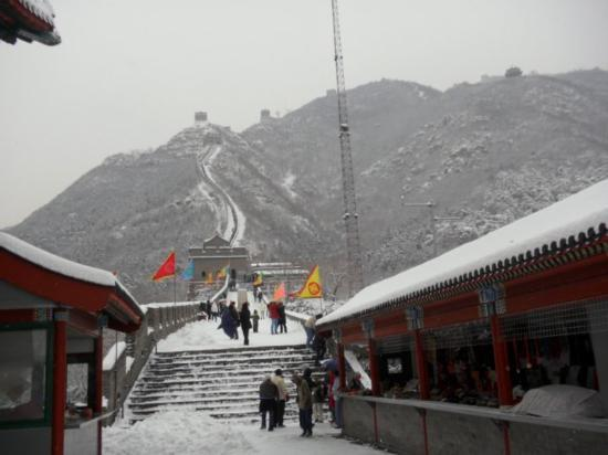 The Great wall of Jiankou-The Great Wall Alternative: ...great wall's view at the first peak point stop!  ;p