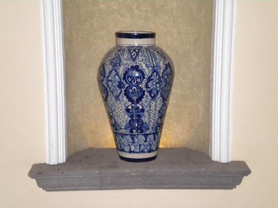 Monterrey, Mexico: beautiful Mexican style vase