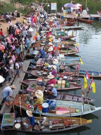 Hat Yai, Thailand: The Klonghae Floating Market, Hatyai