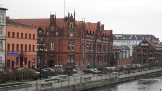 Bydgoszcz, Polska: Buildings Old Posts